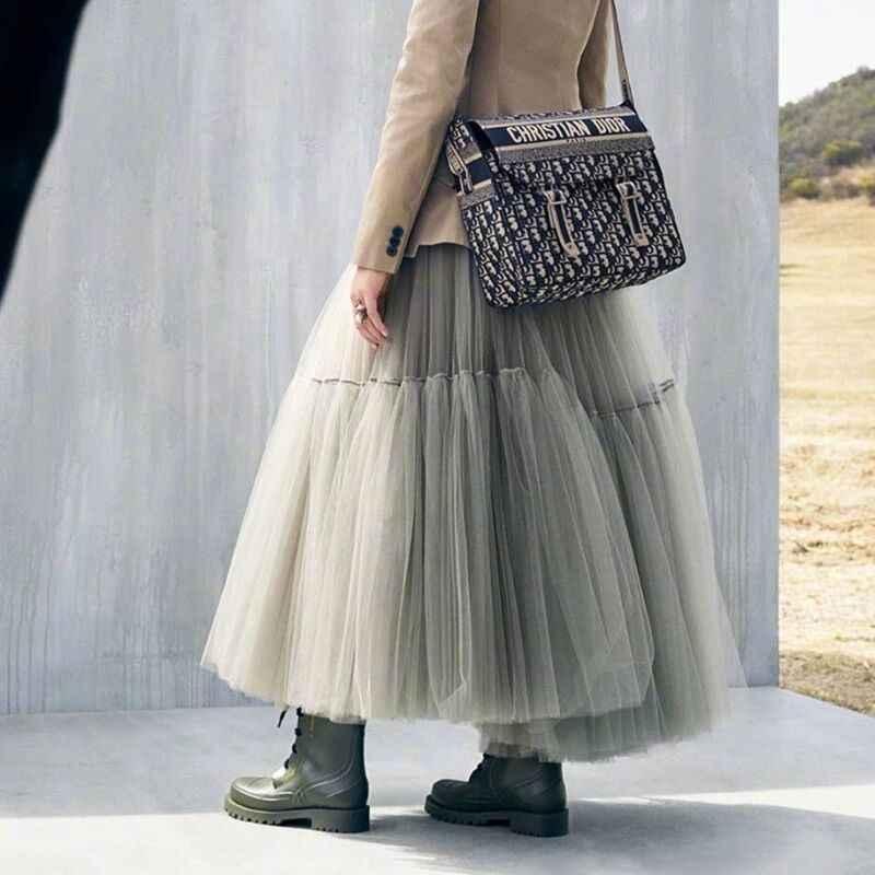 Jupe longue longue en Tulle doux Steampunk noir gothique plissé Tutu jupes femmes Vintage jupon lange rok jupes falda