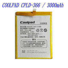 100% New high quality 3000mAh  CPLD-366 Battery  for Coolpad Note3 8676 mobile phone  free Shipping