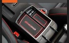 Car Styling Accessori 1 PCS di Plastica Interni Bracciolo Scatola di Immagazzinaggio Dell'organizzatore del Contenitore Della Cassa Del Vassoio Per Hyundai Kona 2017 2018