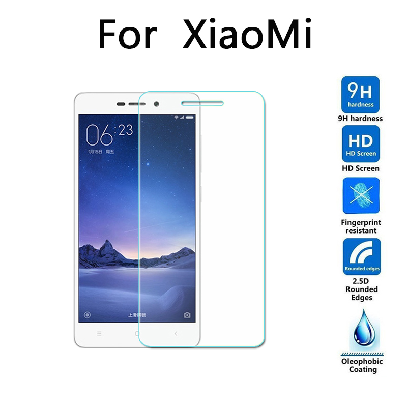 For Xiaomi Redmi 3 3S 3X Pro Prime Screen Protector 9H Premium Tempered For Redmi3 S Glass Protective Cover Film 5.0 inch