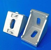 3030 Aluminum Profile Corner Fitting Angle 3030 Decorative Brackets Aluminum Profile Accessories L Connector KF441