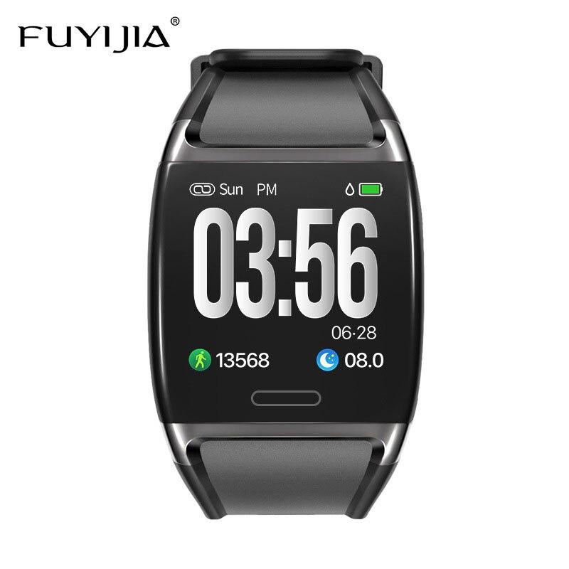 FUYIJIA Relogio Feminino Heart Rate Monitoring Smart Watch Couple 2019 New Waterproof Watch Men's Sports Woman Watches Top Brand