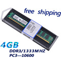HOT SALE ! Free Shipping--DDR3 RAM 4GB 1333MHZ for Desktop