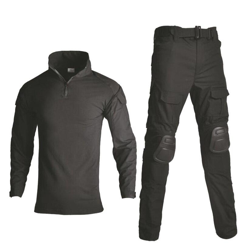 Militär Armee Freien Kampf Training Anzüge Tactical Camo Jagd Kleidung Paintball Airsoft Sport Hemd + Hosen