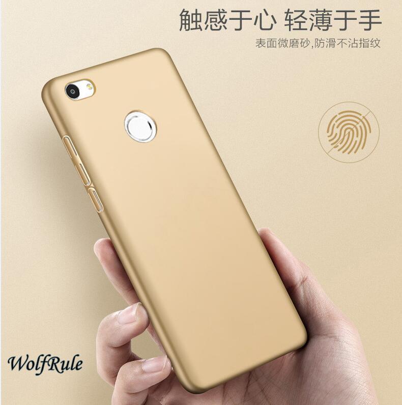 Mi Max 2 För Cover Xiaomi Mi Max 2 Case Anti Knock smooth Slim PC - Reservdelar och tillbehör för mobiltelefoner - Foto 2
