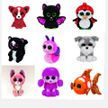 1Pc Hot Ty Beanie Boos Big Eyes Small Dog Cat penguin Plush Toy Doll Kawaii Stuffed Animals Collection Lovely Children's Gifts
