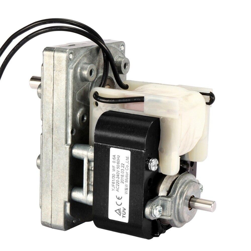 AC 220V to 240V 50Hz Pellet Stove Auger Motor 25RPM Clockwise Gear Motor D-shaped Shaft Pole Motor Single-Phase tp760 765 hz d7 0 1221a