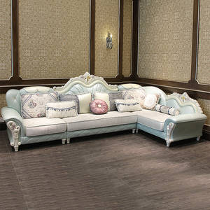 1 Lounge 3 Seat /lot Luxury Sofa For Living Room Furniture