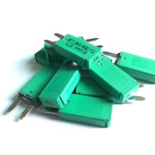 купить 10 pcs 14V DC 30 Amp trumpet automatic reset circuit breaker protection /car reset circuit breaker 30A дешево