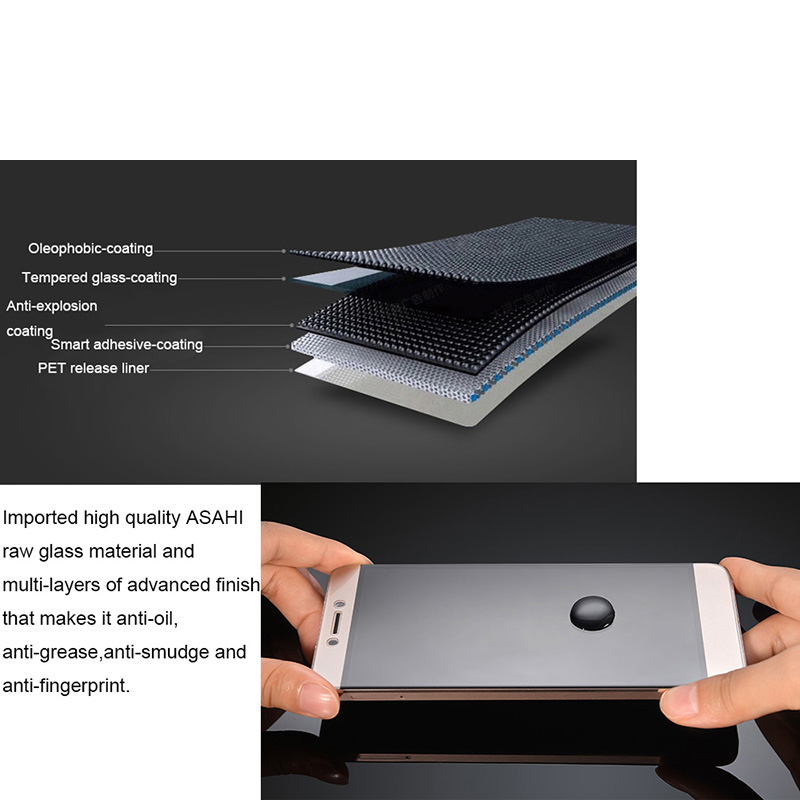 GXE Premium härdat glasfilm för LeEco Le 1 Pro 1s Le 2 Pro Max 2 - Reservdelar och tillbehör för mobiltelefoner - Foto 6