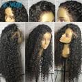 Свободные Вьющиеся Полный Шнурок Человеческих Волос Парики Glueless Бразильский Full Lace парики Для Чернокожих Женщин Девственные Волосы Фронта Шнурка Человеческих Волос Парики