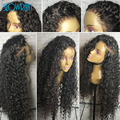 Loose Curly Full Lace Human Hair Wigs Glueless Brazilian Full Lace Wigs For Black Women Virgin Hair Lace Front Human Hair Wigs