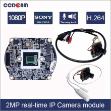 CCDCAM 1080P HD 2MP IP Camera 1/2.9″ CMOS SONY Low lux IMX322 IMX323 +Hisilicon 3516CV200 2 Megapixel CCTV Camera Module Board