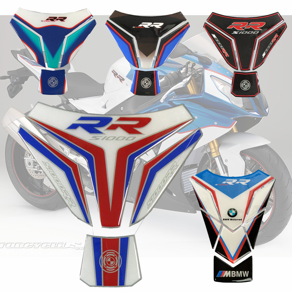 Motorcycle 3D For BMW Tank Pad Gas Cap Pad Filler Protector Sticker Decal S1000 RR S1000RR S 1000