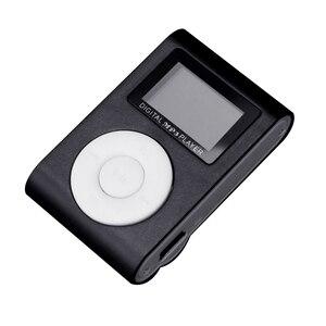 Image 2 - カラフルなミニMp3 音楽プレーヤーMp3 プレーヤーミニ液晶画面マイクロtfカードスロットusb MP3 スポーツプレーヤーtfをサポートusb 2.0/1.1