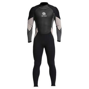Men\'s One-Piece Full body Neoprene Wetsuit 3mm Back Zip Scuba Dive Wetsuit Swimming Surfing Diving Snorkeling Suit Jumpsuit - DISCOUNT ITEM  47% OFF Sports & Entertainment