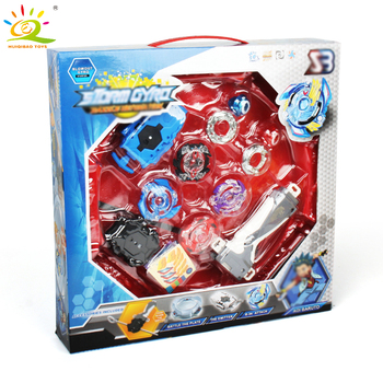 4pcs/set Beyblade Arena Spinning Top Metal Fight Beyblade Metal Beyblade Stadium Battle Top Gifts Classic Toy Launcher For Child beyblade set