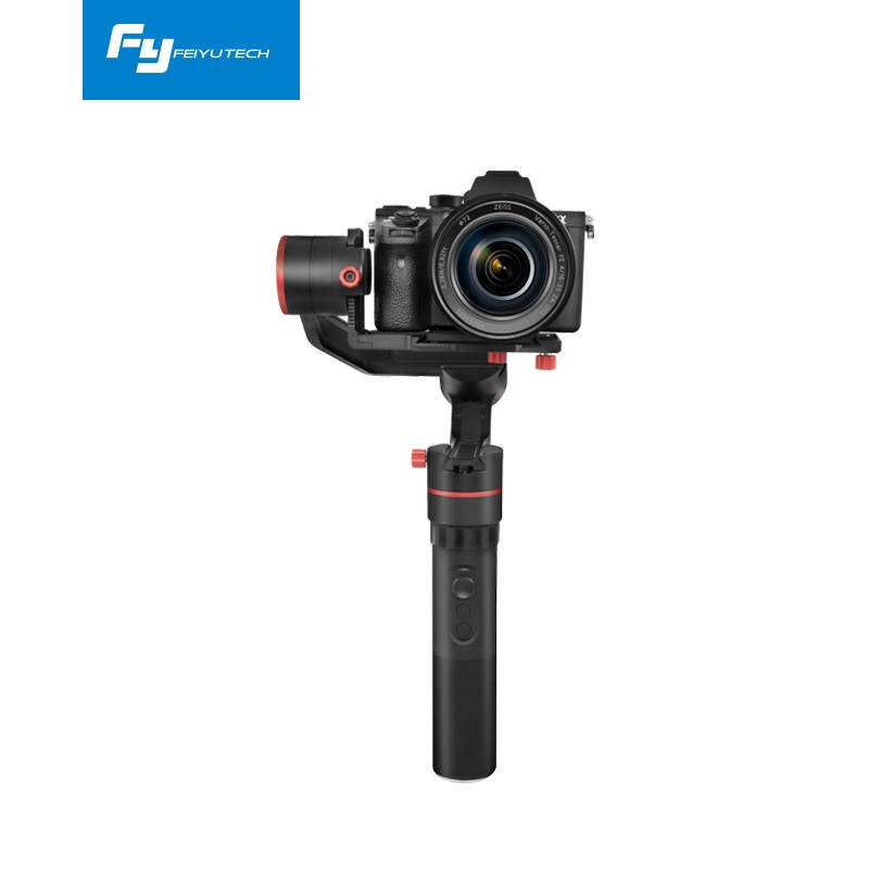 FeiyuTech a1000 3 Axis Gimbal Stabilizer Handheld for NIKON SONY CANON Mirrorle Camera Gopro Action Cam Smartphone 1.7kg Payload x cam sight2 2 axis smartphone handheld stabilizer mobile phone brushless gimbal with bluetooth for iphone samsung xiaomi nexus