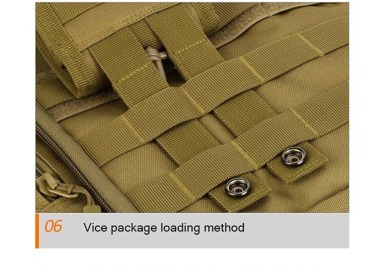 Ανδρικό σακίδιο μεταφοράς στρατιωτικών προδιαγραφών για πολλαπλές χρήσεις msow