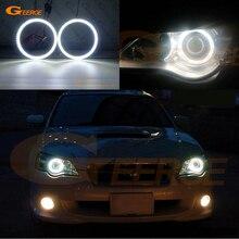 Для Subaru Legacy 2007 2008 2009 smd комплект светодиодов «глаза ангела» Дневной светильник отличное Ультра яркое освещение DRL