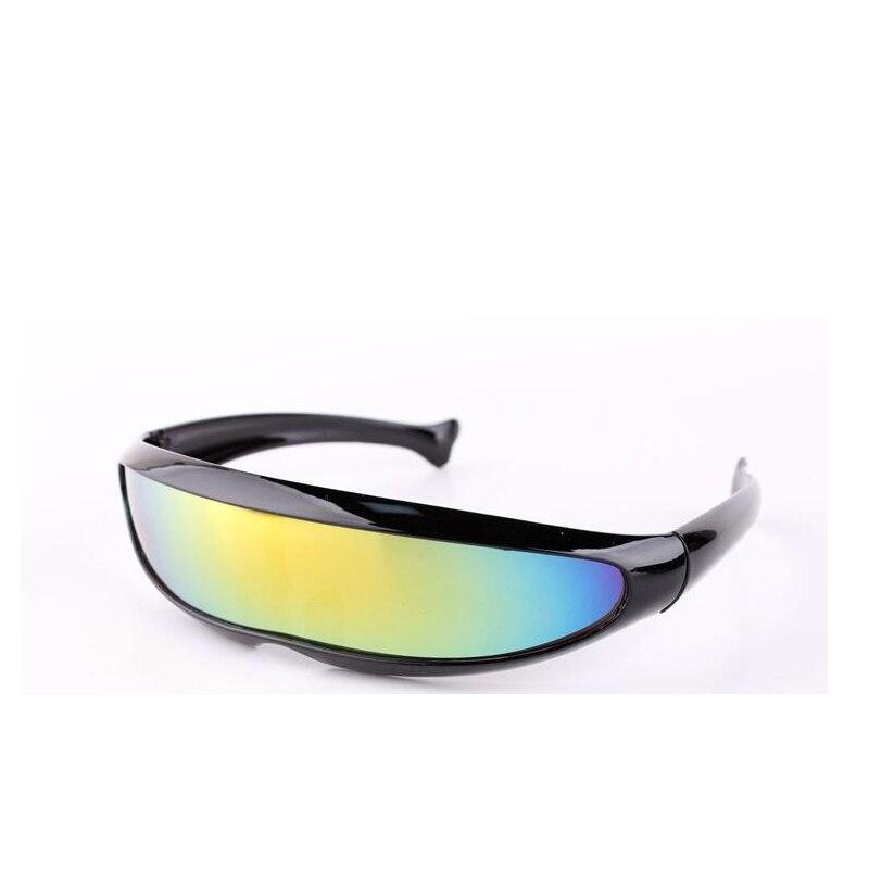 2018 Neue Mode Sport Sonnenbrillen Outdoor Sonnenbrille X-männer Fisch Geformt Männer Sonnenbrille Laser Laser Brillen Silber Objektiv Uv400 Guter Geschmack