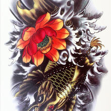 Buy Japanese Flowers Tattoo And Get Free Shipping On Aliexpress Com