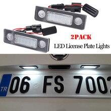 LED Number License Plate Light Lamp for Skoda Octavia Roomster 5J Error Free 6500-7000K ROOMSTER Praktik (5J) 2007-2010 Octavia