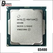 إنتل بنتيوم G5400 3.7 GHz ثنائي النواة رباعية موضوع معالج وحدة المعالجة المركزية 4M 54W LGA 1151