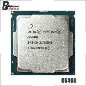 Image 1 - インテル® Pentium® G5400 3.7 Ghz デュアルコア、クアッドコアスレッド Cpu プロセッサ 4 メートル 54 ワット LGA 1151