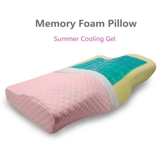 Brand Sleep Bed Pillows Men Women Neck Support Memory Foam Bamboo