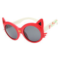 Summer Style 2015 New Hot Sale High Quality Kids UV Sunglasses Cartoon Cat Animal Shapes Sunglasses