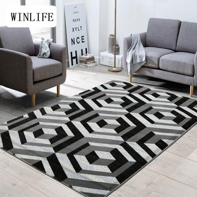 Winlife Karpet Untuk Ruang Tamu Rumah Anti Slip Lantai Tikar Besar Yang