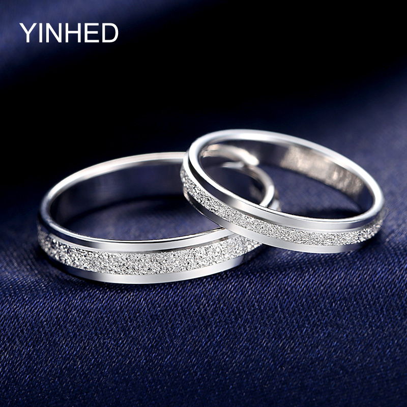 Yinhed Wedding Couple Rings For Women And Men 100 925 Sterling