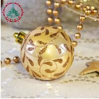 Adornos Navidad 2018 Natal 24pcs Xmas Ball 6cm Ball Ornaments For Christmas Tree Decorations Christmas Decorations For Home