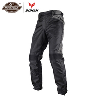 DUHAN Coldproof Oxford Pants Motorcycle Off road Racing Pants Trousers Motorcycle Hip Protector Anti Fall Pants DK 015