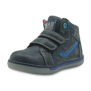 Image 4 - Apakowa Kids Shoes Boys Spring Fall Fashion High top Pu Leather Outdoor Sport Boots Childrens Comfortable Ankle Boots Eur 21 26