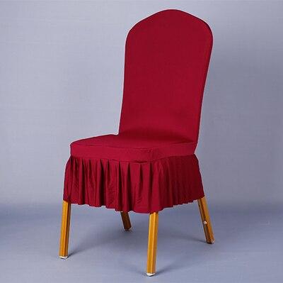 Эластичные Чехлы для стульев спандекс стрейч Ресторан Чехлы для стульев машинная стирка для свадеб отель украшения Декор