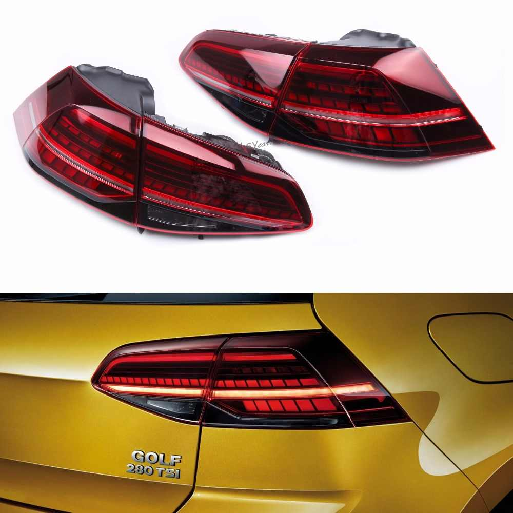KEOGHS 5G0 945 208 C Dynamic LED Flash Combination Rearlight Signal Taillight For Volkswagen Golf R Golf MK7 Golf MK7.5