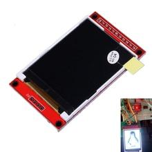 Ili9225 2.0 дюймов UART TFT ЖК-дисплей Дисплей модуль SPI Интерфейс красочные Экран последовательный Порты и разъёмы 176×220 Поддержка 3/5. 5 В Питание 4 IO