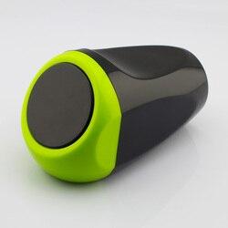 Akcesoria samochodowe do stylizacji drzwi gniazdo naciskając zielony odpady popiół kosz na śmieci kosz na śmieci śmieci pyły pojemnik na termos uchwyt na wiadro