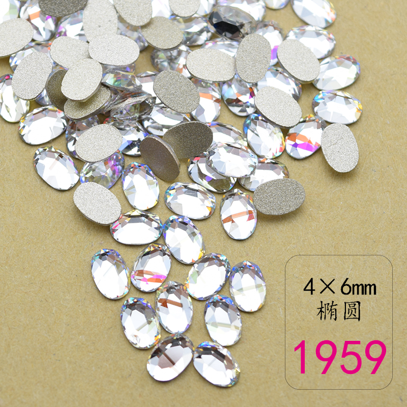 Купить с кэшбэком 100PCS/Lot 2016 New Design Beautiful Nail Charm- Zircon decorative crystal diamonds For Nail Art  8MM