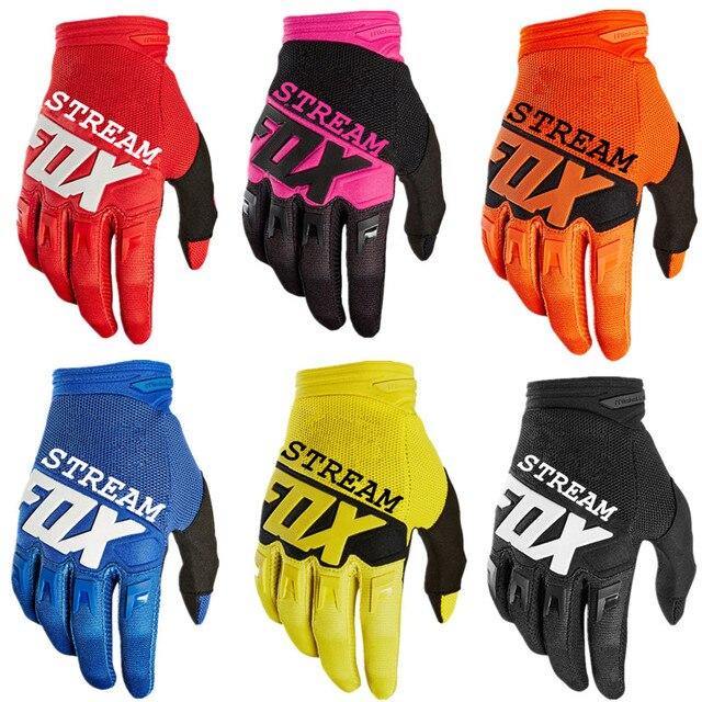 Stream- Fox Gloves Moto DIRTPAW Racing Motocross Gloves BMX ATV MTB Off Road Motorcycle gloves Mountain Bike MTB Gloves