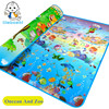 New StyleDoulble Site Baby Play Mat 2 1 8 Ocean And Zoo Child Beach Mat Picnic