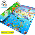 Promoção autêntico autorizado maboshi esteira do jogo do bebê oceano e zoológico criança praia mat crianças tapete bebê crawling mat cm-012