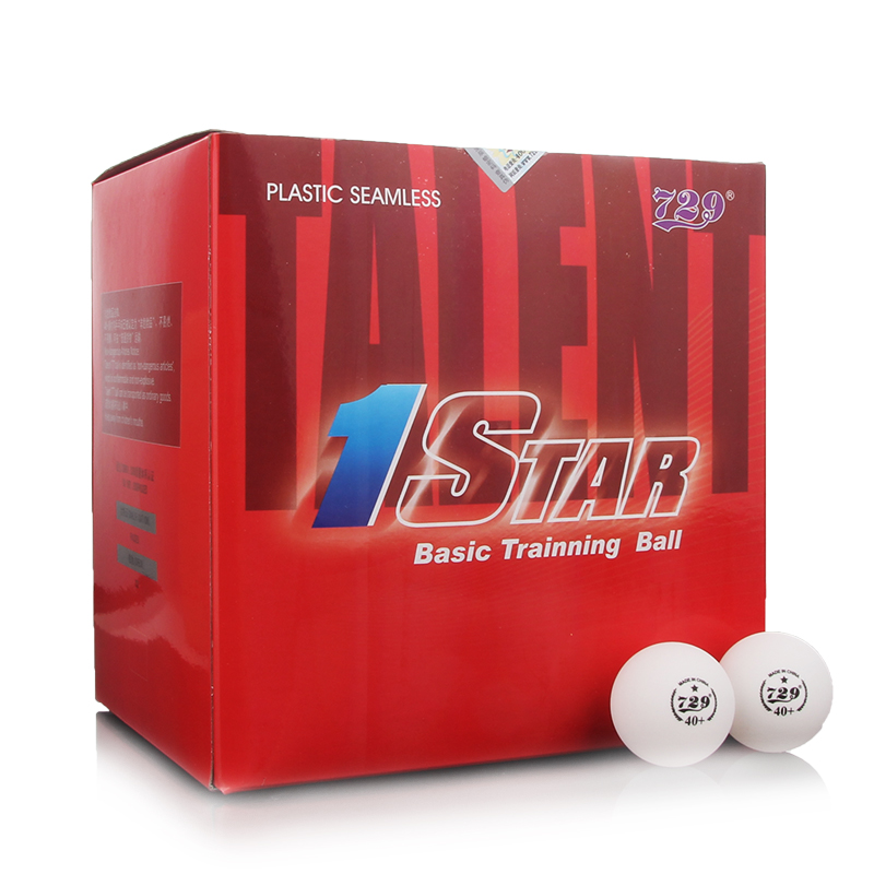 ФОТО New Material CELL-FREE 1- Star Level 40+ PingPong Ball 100 PCS/Lot Table Tennis Ball Official Ball of World Games 729 B1