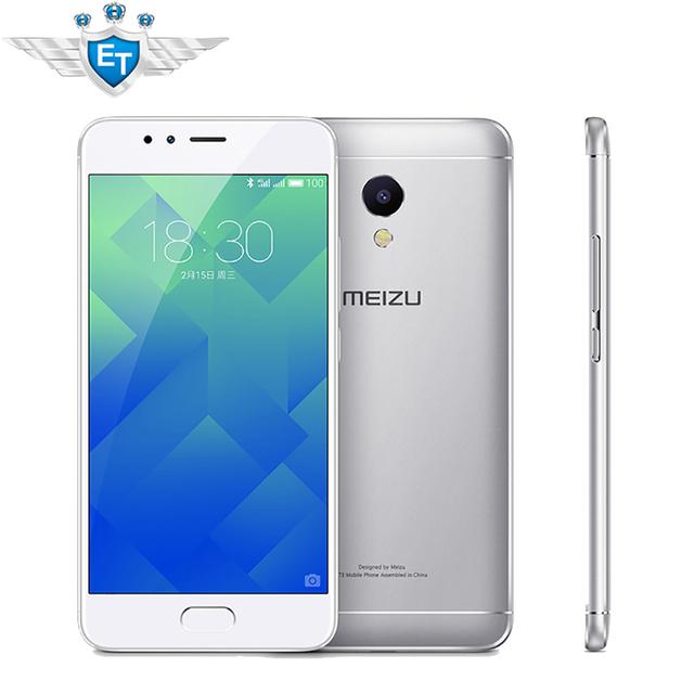 Meizu M5S cellphone 18W fast charge 5.2 Inch MTK6753 Octa Core 13.0MP camera 3GB RAM 32GB ROM 13MP Camera Fingerprint