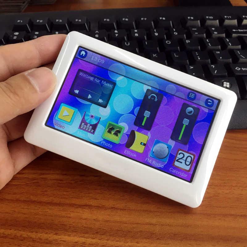 8 ギガバイト 4.3 インチ高精細 MP4 MP5 プレーヤータッチスクリーン + ボタンゲーム本物の電子ブック読書辞書機能