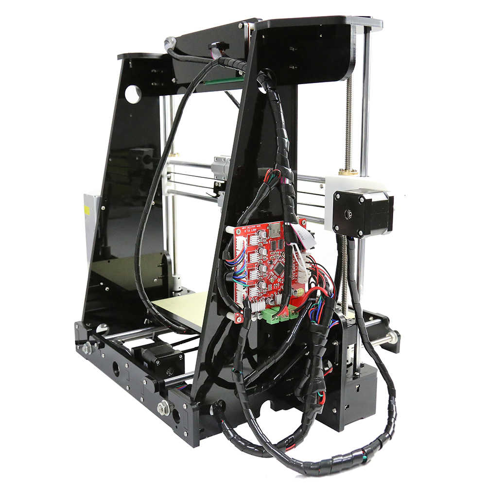 Anet A8 3D مجموعة الطابعة DIY Prusa i3 RepRap مع PLA/ABS البلاستيك الاستهلاكية 3D-принтеро السفينة من موسكو مستودع في بو