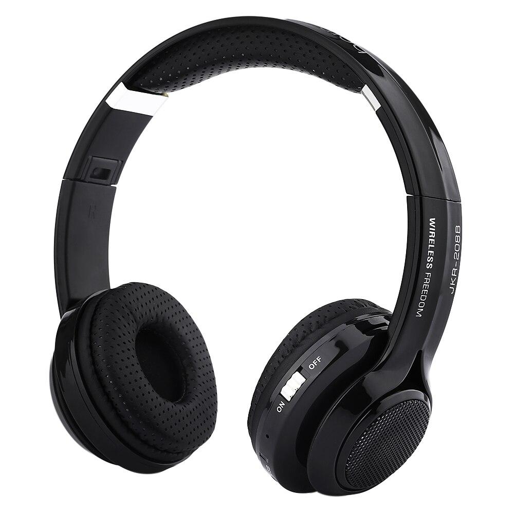 Original JKR-208B 3.5MM Plug Bluetooth Headset Hifi Auricular Big Casque Cordless Headphones Wireless Bluetooth Earphone Gift kz headset storage box suitable for original headphones as gift to the customer