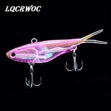 NEW 95mm 20g Soft bait VIB fishing Bait Vibrating With T Tail ice Fishing lures fish  pesca jigging winter Lead hook swimbait стоимость